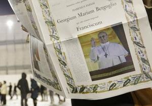 Новий Папа Римський - Франциск - Політики і релігійні лідери вітають нового Папу