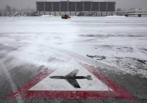 Париж - негода - аеропорт
