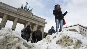 Снігопади заблокували аеропорт Франкфурта