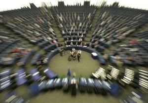 Європарламент - санкції - Україна