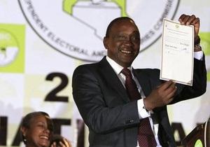 Політика, якого розшукує Гаазький трибунал, обрали президентом Кенії