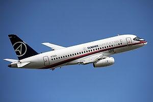 Superjet 100 - Шереметьєво - аварійна посадка