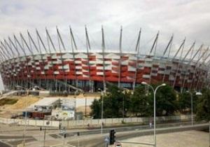Перед матчем со сборной Украины на стадионе в Варшаве поменяют газон