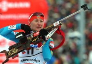 Биатлон. Две украинки попали в шестерку лучших на этапе Кубка Мира