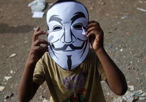 Хакеры Anonymous - Anonymous обвинили Bank of America в незаконном шпионаже