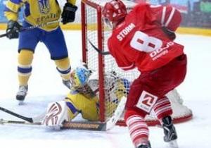 Хоккей. Украина начала квалификацию на Олимпиаду с поражения от датчан
