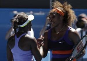 Australian Open. Серена Уильямс сенсационно проиграла молодой американке