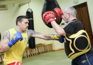 Украинские атаманы провели открытую тренировку перед матчем с британцами