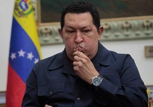 У стані здоров я Чавеса з явилися ускладнення
