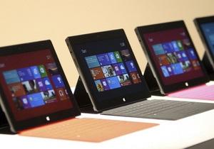 Microsoft расстроена продажами Surface