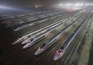 Китай запустив найдовшу у світі швидкісну залізницю