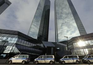 В центральном офисе Deutsche Bank вновь прошел обыск