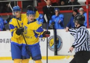Хоккей. Украинcкая молодежка проиграла Италии на ЧМ в Донецке