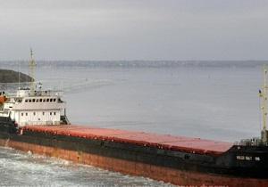 У Чорному морі затонув суховантаж із українцями на борту