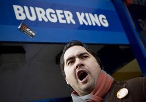 Burger King открывает первый ресторан во Франции