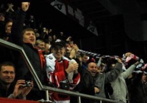 Матч ХК Донбасса посетили рекордное количество зрителей и Ахметов
