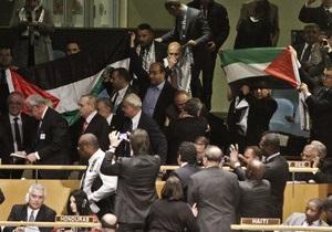 ООН прийняла ще п ять резолюцій щодо Палестини