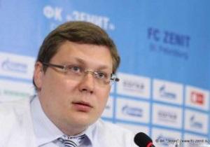 Гендиректор клуба Митрофанов: Зенит не снимется с чемпионата России