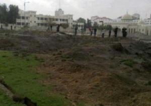 Израильские ВВС разбомбили стадион в Секторе Газа
