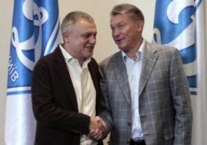 Врачи разрешили Блохину занять свое место на скамейке Динамо