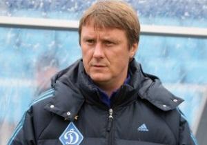 Хацкевич: Шевченко будет тяжело сходу  возглавить сборную Украины