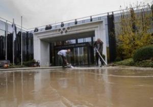 В Швейцарии затопило здание Международного олимпийского комитета