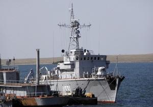 Кабмін списав шість бойових кораблів українського флоту