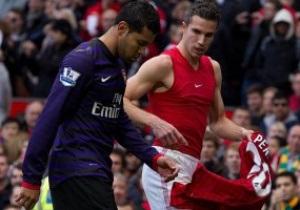 Тренер Арсенала раскритиковал футболиста за эпизод с футболкой МЮ