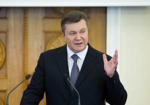 Янукович дорікнув  підказувачам ззовні  у тому, що вони  вчать нас, як жити у нашому домі