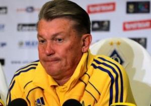 Блохин не полетит с Динамо на матч против Порту