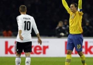 Ибрагимович: Игра Германия - Швеция - лучшая в моей карьере