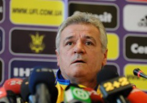Тренер сборной Украины: Сегодня был не наш день