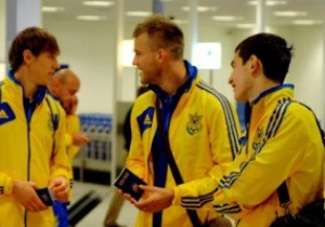 Сборная Украины по футболу отправилась в Молдову