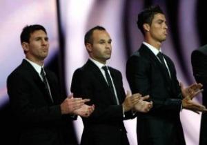 Иньеста: Лучший футболист мира - Лионель Месси
