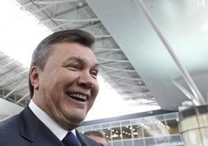 Янукович открыл под Киевом крупнейший в Украине хлебзавод, принадлежащий харьковскому регионалу