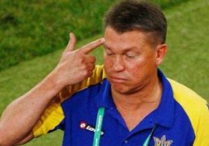Блохин не сможет летать с Динамо до Нового года