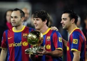 Хави: Месси - сильнейший футболист мира и должен получить Золотой мяч