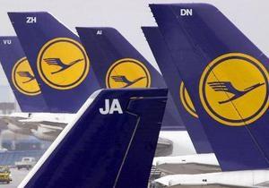 Более 100 тыс пассажиров Lufthansa не смогли вылететь в пятницу