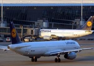 Lufthansa пообещала выполнить субботние рейсы, касающиеся Украины, в соответствии с расписанием