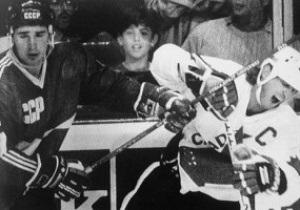 Хоккей: Ветераны СССР обыграли Канаду в первом матче юбилейной серии
