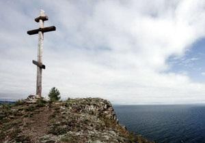 В Архангельську невідомі зрубали хрест