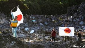 Японські активісти висадилися на спірних з Китаєм островах