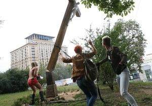 В УПЦ МП відреагували на  богохульні витівки  FEMEN