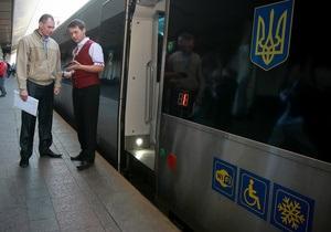 УЗ сообщает о снижении стоимости проезда в скоростных поездах Hyundai