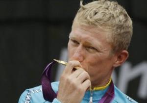 Чемпион Олимпиады-2012 Александр Винокуров завершил карьеру велогонщика