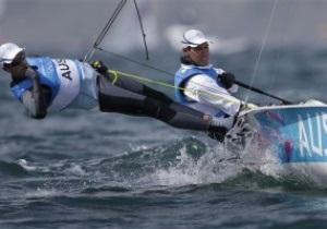 Австралийские яхтсмены завоевали золото Олимпиады-2012 в классе 470