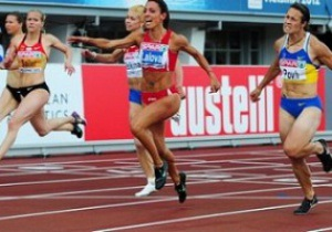 Бег. 4х100 метров. Украинки обогнали Ямайку и с третьим результатом выходят в финал