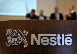 Nestle наращивает прибыль вопреки кризису