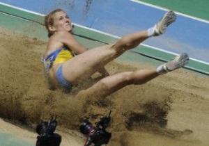 Украинки не смогли пробиться в финал в прыжках в длину
