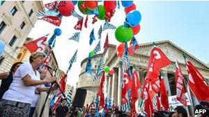 Італійська економіка скорочується чотири квартали поспіль
